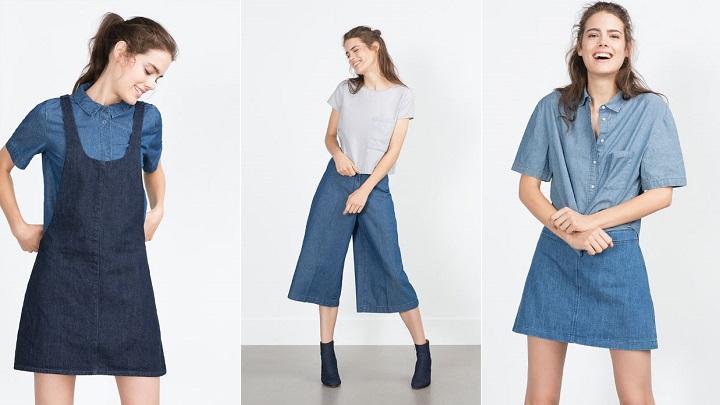 Denim Essentials Zara TRF