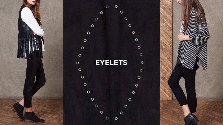 Eyelets Stradivarius