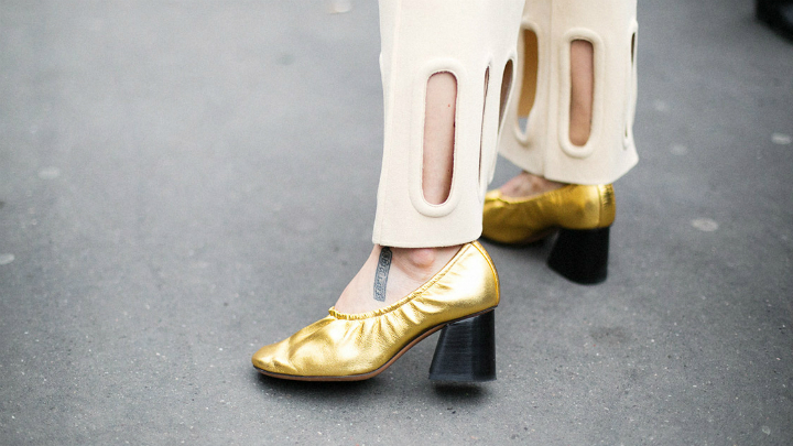 Granny shoes tendencias