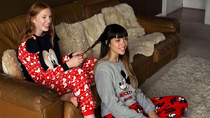 Pijamas de minnie mouse de primark oto o invierno 2015 2016 - Mantas sofa primark ...