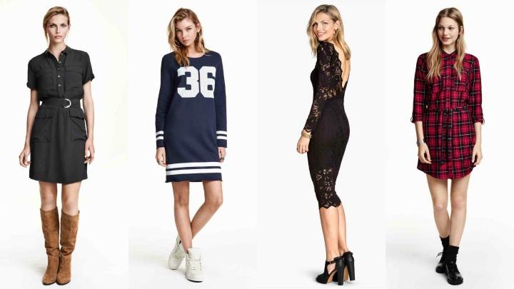 estilos vestidos HyM otono 2015