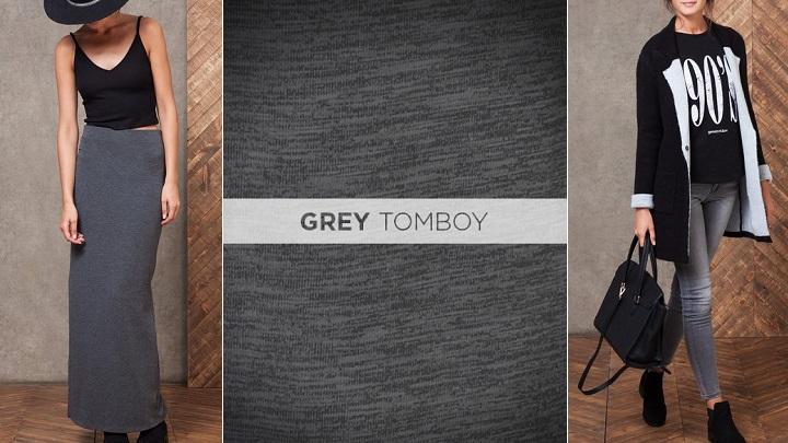 Grey Tomboy stradivarius
