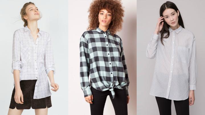 camisas oversize tendencia