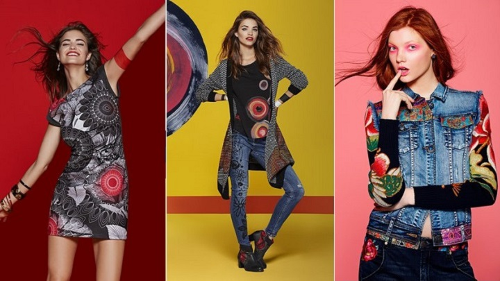 desigual otono invierno 2015 2016 lookbook