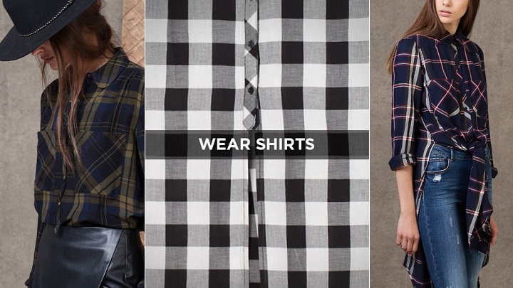 Wear Shirts Stradivarius