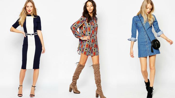cortes vestidos moda