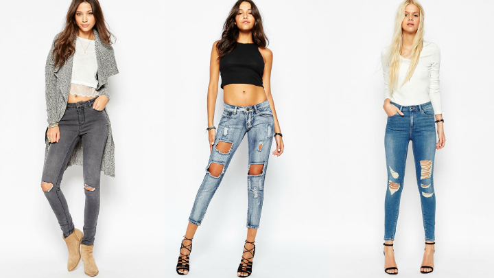 ripped jeans tendencia