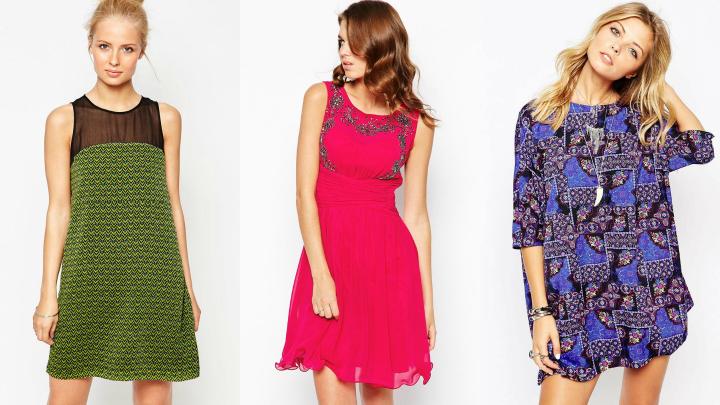 vestidos diferentes cortes
