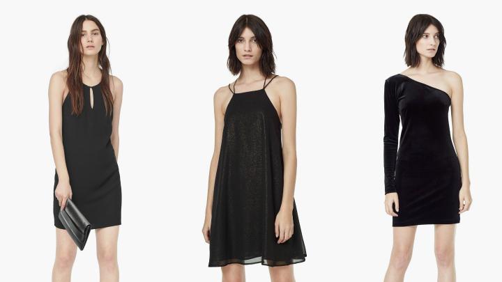 vestidos nochevieja negros