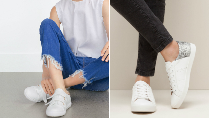zapatillas blancas tendencias