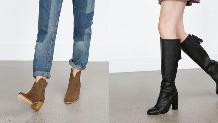 Zara botas 2016 invierno1