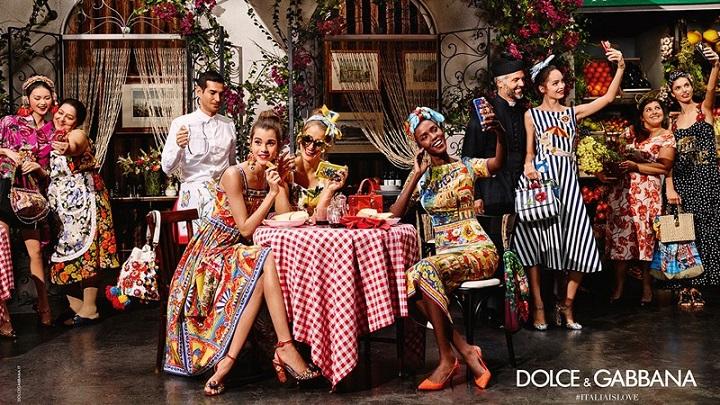 Dolce Gabbana primaera 2016 campana