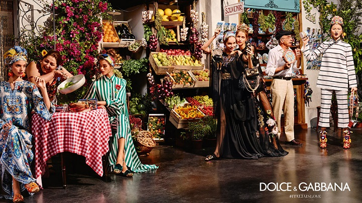Dolce Gabbana primaera 2016 campana1