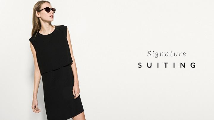 signature suiting Massimo Dutti