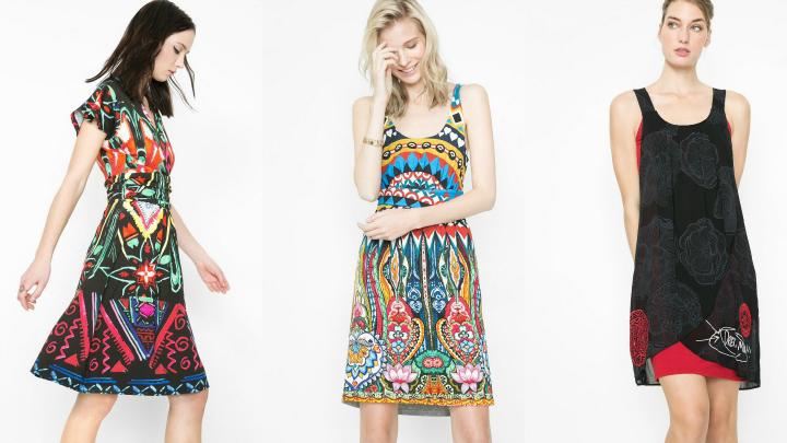 vestidos Desigual primavera2