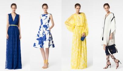 vestidos primavera 2016 Carolina Herrera
