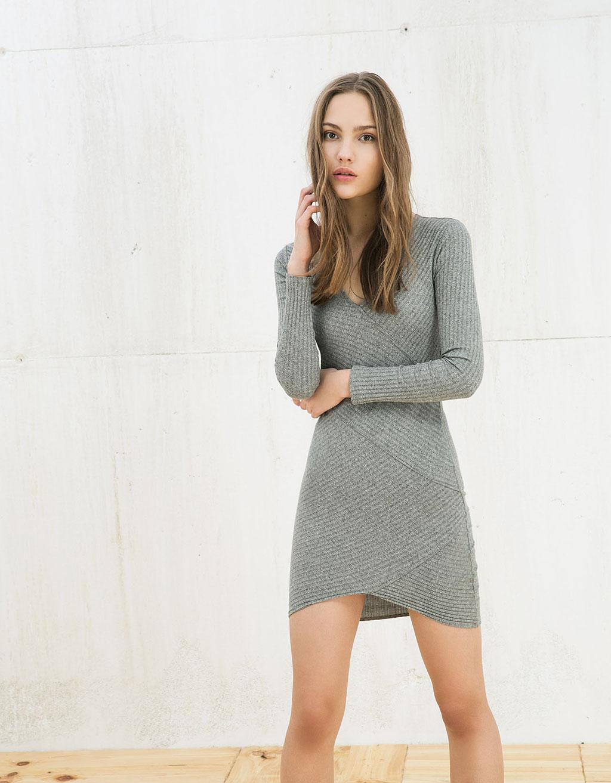 9daae9c7db Los vestidos estilo folk de la nueva colección de Bershka (8 21)