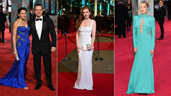 peor vestidas BAFTA 20162