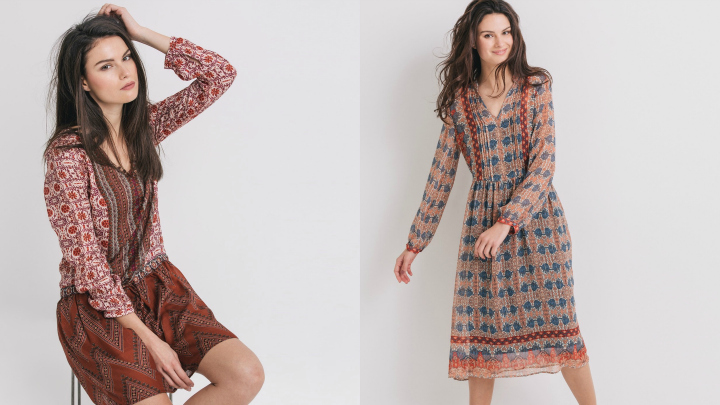 vestidos folk promod