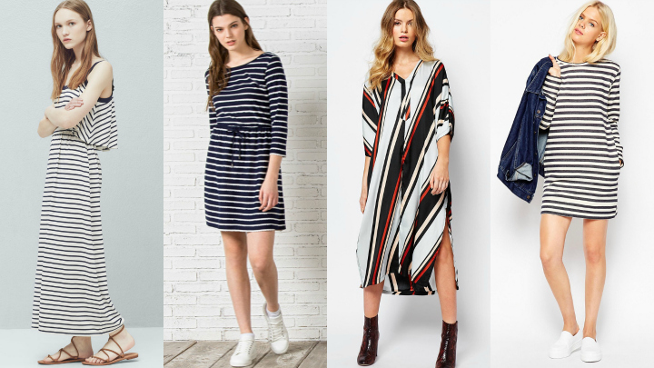 vestidos primavera 2016 rayas