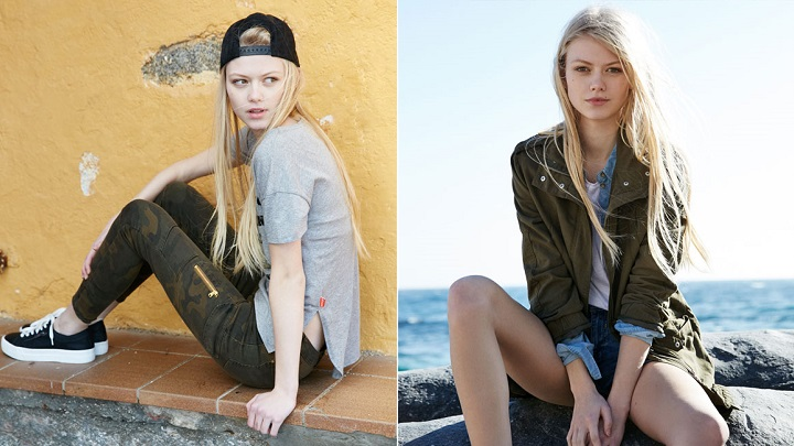 Khaki Trend Pull and Bear foto