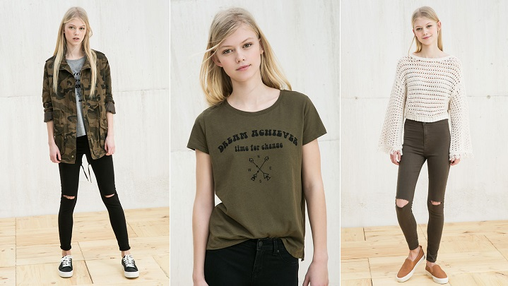 Khaki Trend Pull and Bear foto1