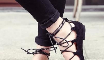 Lace Up Shoes 7