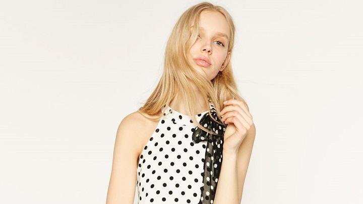 Monochrome Dots Zara