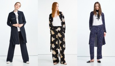 moda pijamera Zara