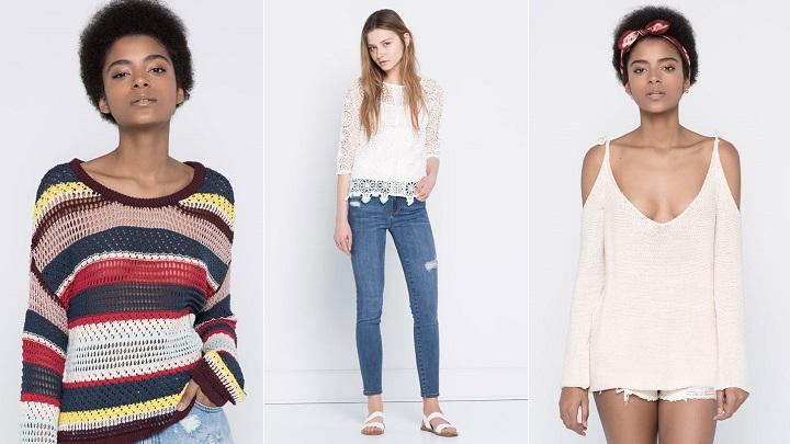 4abb516ab Ropa de crochet de Pull and Bear primavera-verano 2016 – Estilos de moda –  Moda