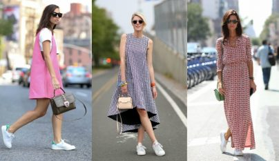 zapatillas con vestido1