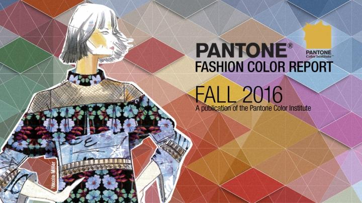 Colores Pantone otono 2016