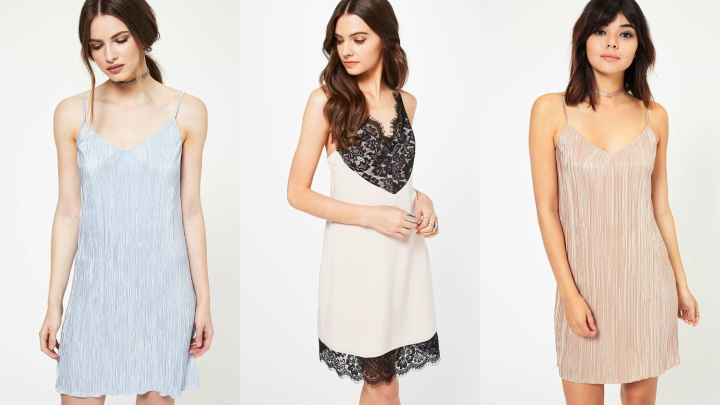 Vestidos lencero Miss Selfridge
