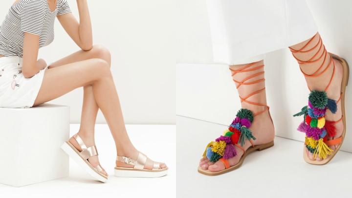 las sandalias de moda para este verano