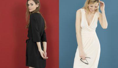Blanco nuevos vestidos