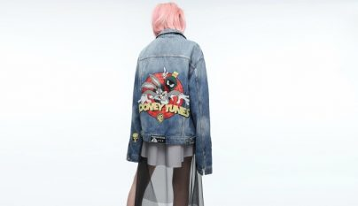 Comic Meets Denim cazadora