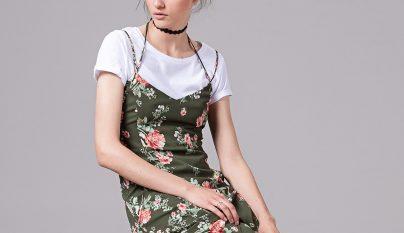 Vestidos flores otono 24