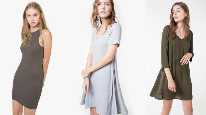 vestidos cortos shana