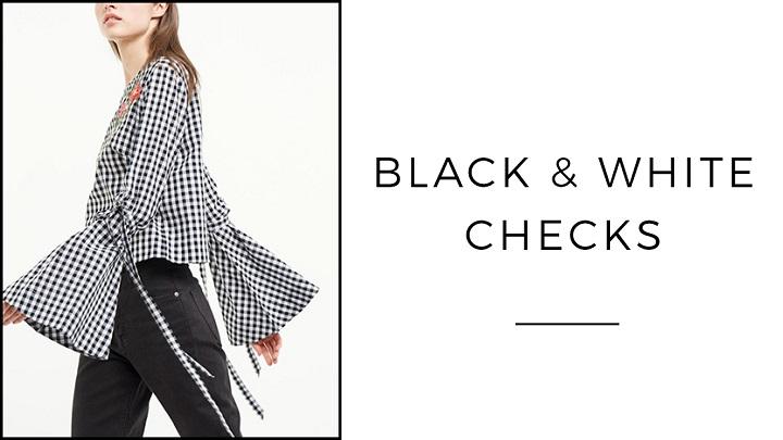 Black-and-White-Cheks-foto