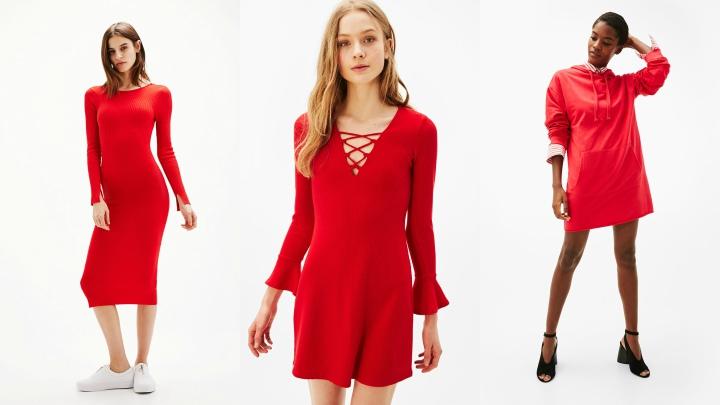 Vestidos-Bershka-rojos