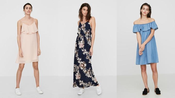 Vestidos de vero moda primavera verano 2017 for Tendencias moda verano 2017