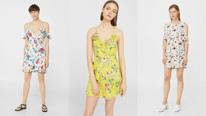 Vestidos-Mango-flores