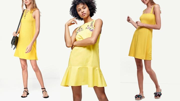 Vestidos-Stradivarius-amarillo