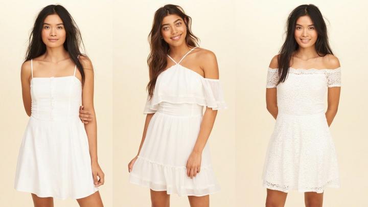 vestidos-blancos-Hollister