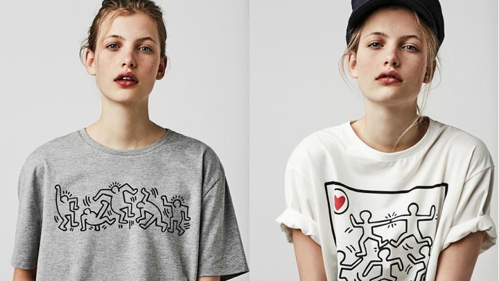 Stradivarius-Keith-Haring-camisetas